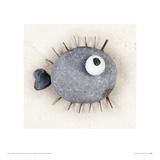 Puffafish Stampa giclée di Ian Winstanley