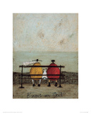 Bums On Seat Giclee Print by Sam Toft