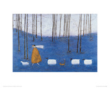 Tiptoe Through The Bluebells Giclee Print by Sam Toft