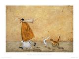 Ernest, Doris, Horace e Stripes Impressão giclée por Sam Toft