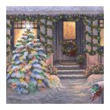 Welcome to Christmas Kunstdrucke von Janet Kruskamp