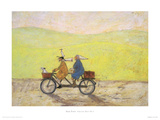 Grand Day Out Giclee Print by Sam Toft