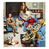 """Home Recital"", March 3, 1951 Giclee Print by John Falter"