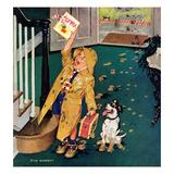 """Happy Mother's Day"", May 11, 1957 Impressão giclée por Richard Sargent"