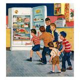 """Refrigerator Raid""  February 19  1955"