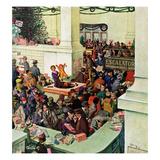 """Lost Child Department"", December 20, 1958 ジクレープリント : ソーントン・ウッツ"