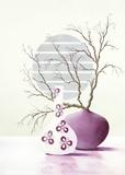 Purple Inspiration I Affiches par David Sedalia