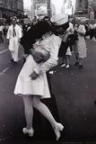 Küssen am Gedenktag für den Sieg über Japan|Kissing on VJ Day Kunstdrucke