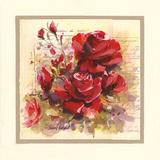 Roses Rouges Posters tekijänä Pascal Cessou