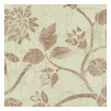 Soft Beige Blooms Prints by Carol Kemery