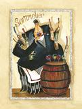 Wine & Roses I Kunstdrucke von Jennifer Garant