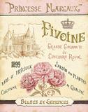 French Seed Packet III Poster av Daphne Brissonnet