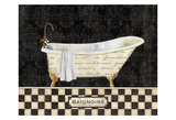 French Bathtub II Schilderijen