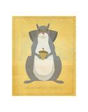 The Relentless Squirrel Plakater af John Golden