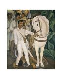 Agrarian Leader Zapata Posters av Rivera, Diego