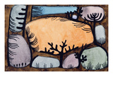 The Day in the Forest; Der Tag Im Wald Giclee Print by Paul Klee