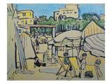Juan-Les-Pins Giclee Print by George Leslie Hunter
