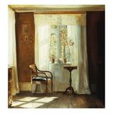 The Artist's Home at Lyngby Gicléetryck av Carl Holsoe