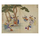 Swing Giclée-tryk af Kim Junkeun