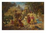 The Feast of Venus Giclee Print by Emmanuel Oberhauser