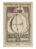 Cover of 'Deutsche Kunst Und Dekoration' ジクレープリント : マーガレット・マクドナルド