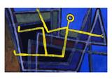Framed; Im Gebalk Giclée-Druck von Paul Klee
