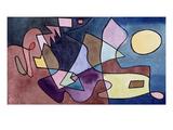 Dramatic Landscape; Dramatische Landschaft Giclée-Druck von Paul Klee