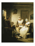 The Story of Laetitia: Domestic Happiness Giclee Print by George Morland