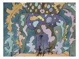Theater, Kleines Buehnenbild Giclee Print by Paul Klee
