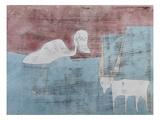 The Friendship; Tier Freundschaft Giclée-Druck von Paul Klee