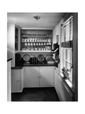 House & Garden - August 1946 Premium fototryk af André Kertész
