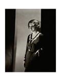 Vanity Fair - January 1931 Fotografie-Druck von Tony Von Horn