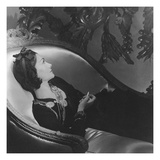 Vogue - February 1954 - Coco Chanel Premium Photographic Print by Horst P. Horst