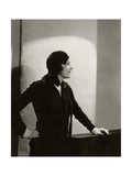Vanity Fair - November 1930 Premium-Fotodruck von Tony Von Horn
