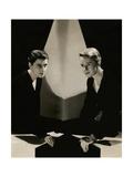 Vanity Fair - April 1932 Fotografie-Druck von Tony Von Horn