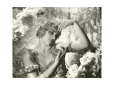 Vanity Fair - July 1935 Photographic Print by Cecil Beaton
