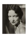 Vanity Fair - January 1932 Premium-Fotodruck von Florence Vandamm
