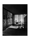 House & Garden - October 1949 Fotoprint av André Kertész