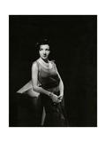Vanity Fair - April 1931 Premium-Fotodruck von Tony Von Horn
