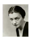 Vanity Fair - October 1931 Premium-Fotodruck von Florence Vandamm