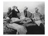 Vogue - July 1928 - Yachting Premium Photographic Print by Edward Steichen