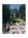 House & Garden - June 1949 Premium fototryk af André Kertész