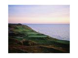Whistling Straits Golf Club, sunset Reproduction photographique par Stephen Szurlej
