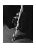 Vogue - March 1935 - Princess Nathalie Paley's Accessories Premium Photographic Print by Edward Steichen