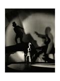 Vanity Fair - March 1930 Premium-Fotodruck von Florence Vandamm