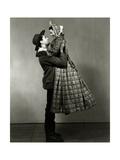 Vanity Fair - December 1934 Premium-Fotodruck von Florence Vandamm