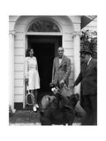 Vogue - June 1949 Premium Photographic Print by Horst P. Horst