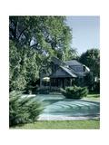 House & Garden - August 1948 Premium fototryk af André Kertész