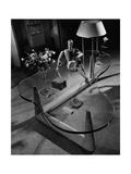 House & Garden - April 1945 Premium fototryk af André Kertész