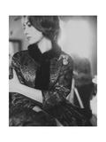Vogue - January 1961 Photographic Print by Karen Radkai